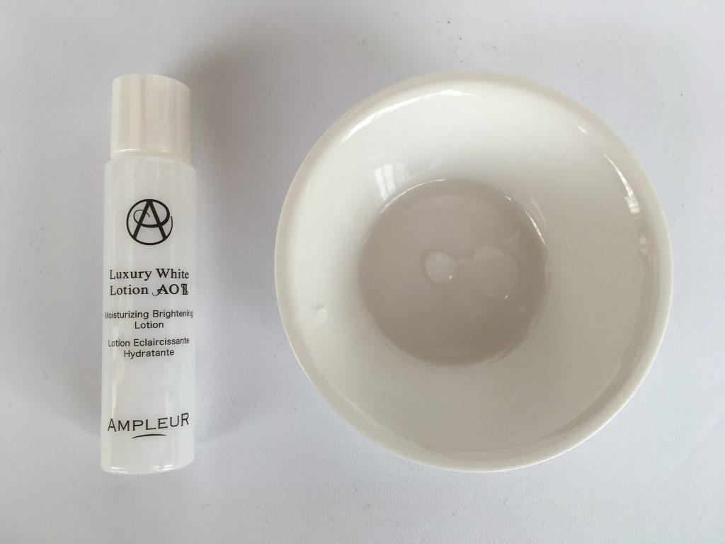 (アンプルールの人気化粧水) ラグジュアリーホワイト ローションAOIIの商品特徴・成分・使い方